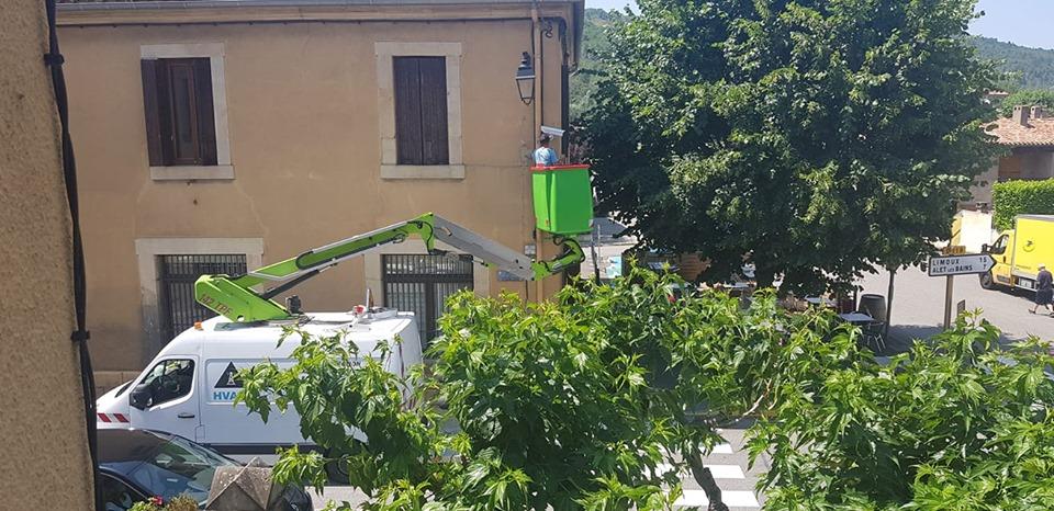 Installation camera LAPI