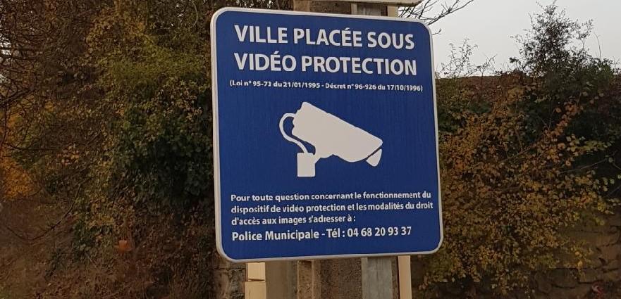 Panneau information surveillance